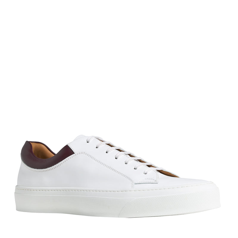 Oslo Leather Sneaker - White