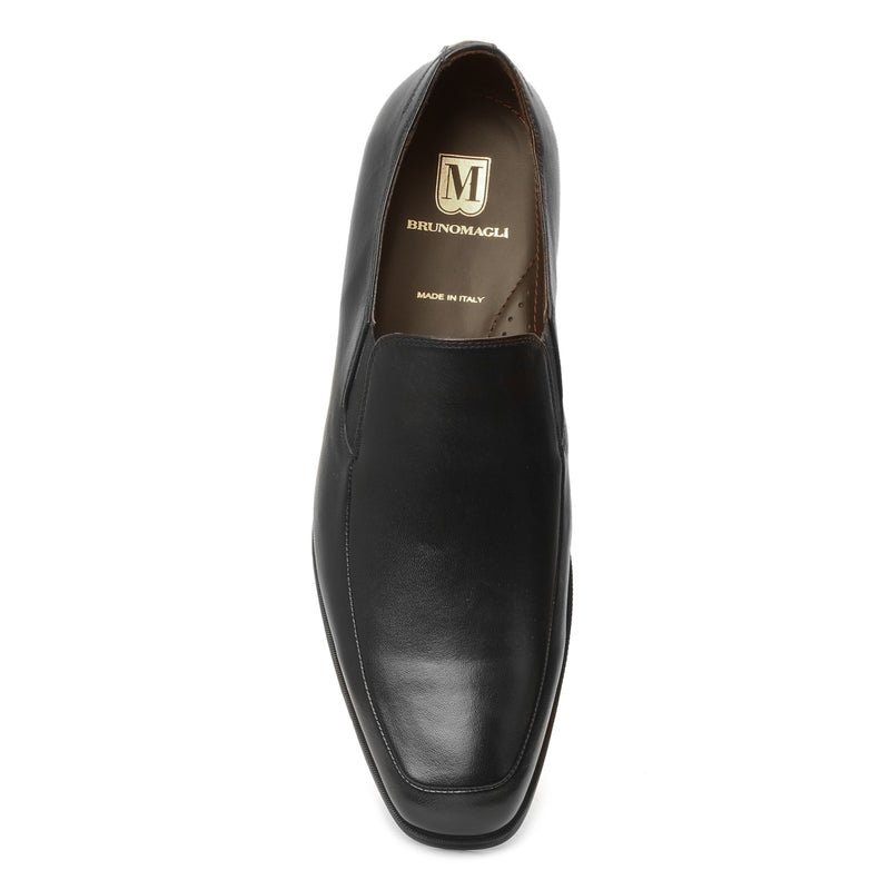 Pitto Leather Loafer - Black