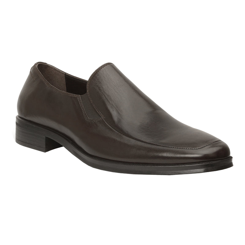 Pitto Leather Loafer - Dark Brown