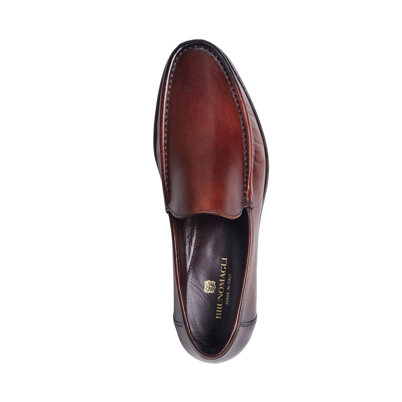 Positano Venetian Loafer Slip-On - Cognac