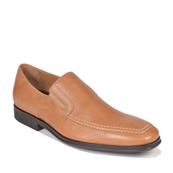 Raging Leather Slip-on - Tan Leather