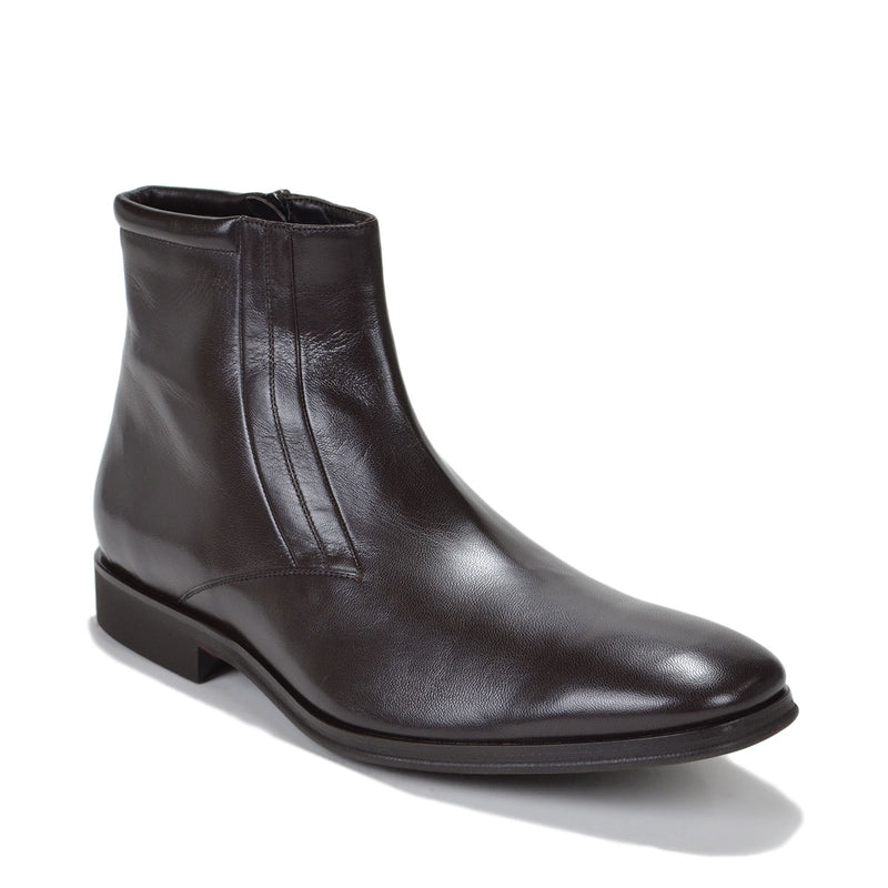 Raspino Boot - Dark Brown Leather