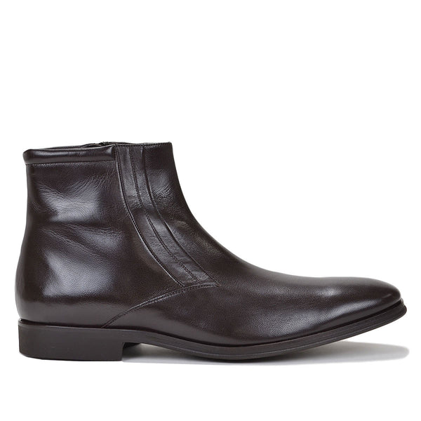 Raspino Boot - Dark Brown Leather - FINAL SALE