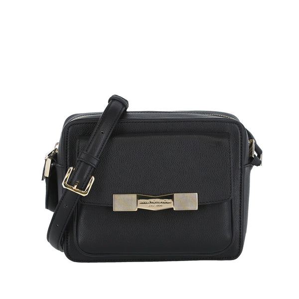 Chiseled M Crossbody Camera Bag - Black
