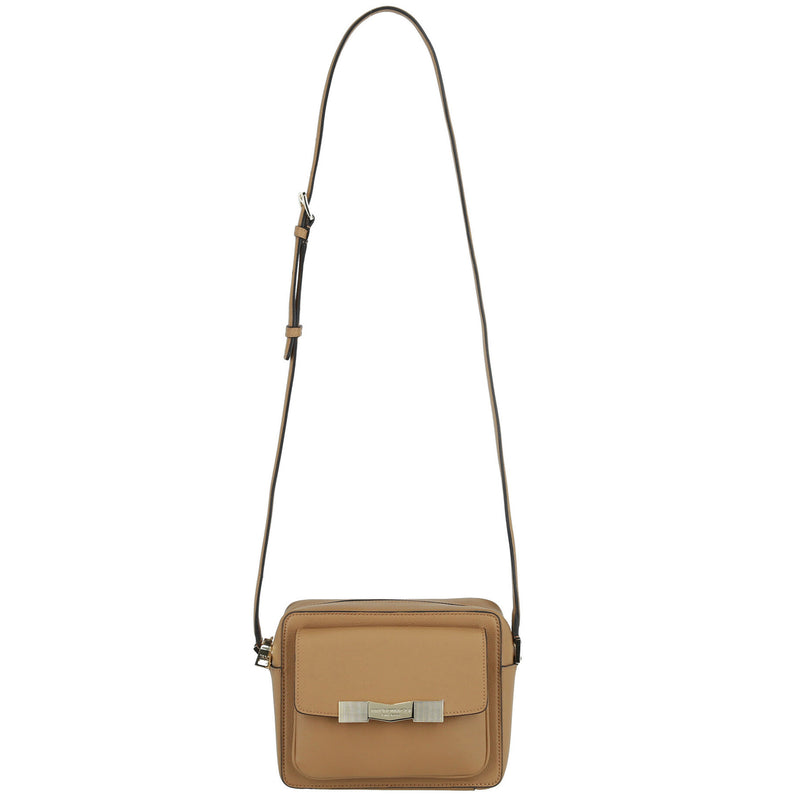 Chiseled M Crossbody Camera Bag - Latte