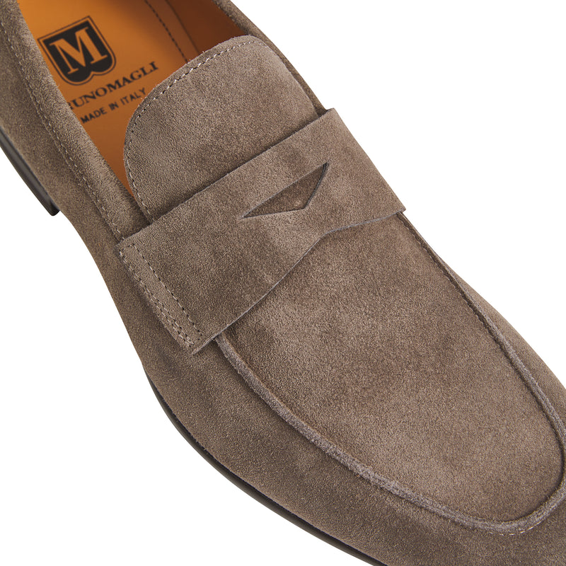 Tino Suede Casual Loafer - Taupe
