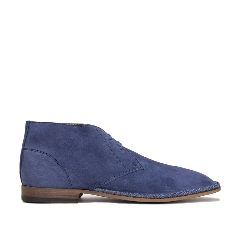 Tristin Boot - Blue Suede