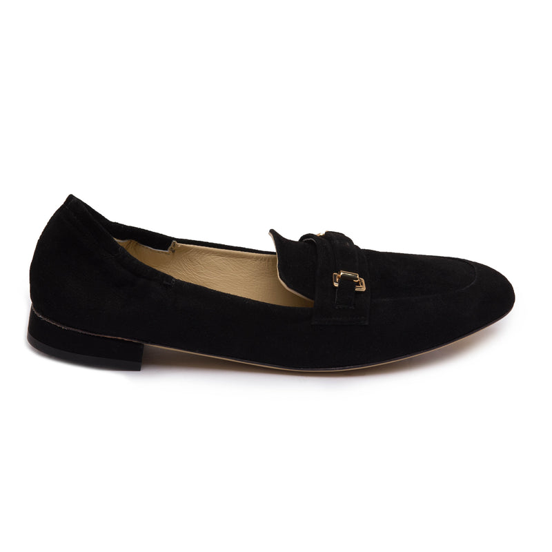 Vinny Loafer - Black Suede