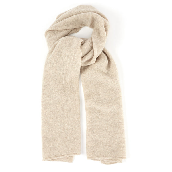 ae746dbfa Ribbed-Knit Cashmere Scarf - Blue - FINAL SALE – Bruno Magli