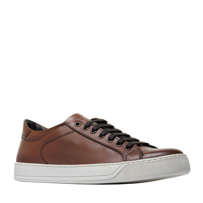 Westy Leather Sneaker - Cognac