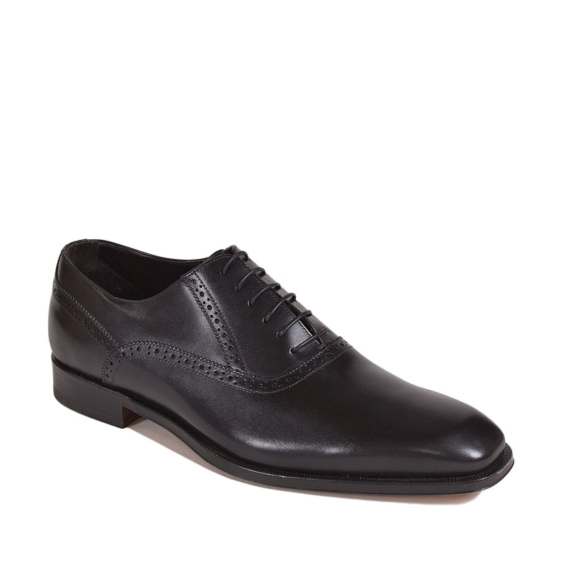 Collezione Yards Oxford - Black Leather