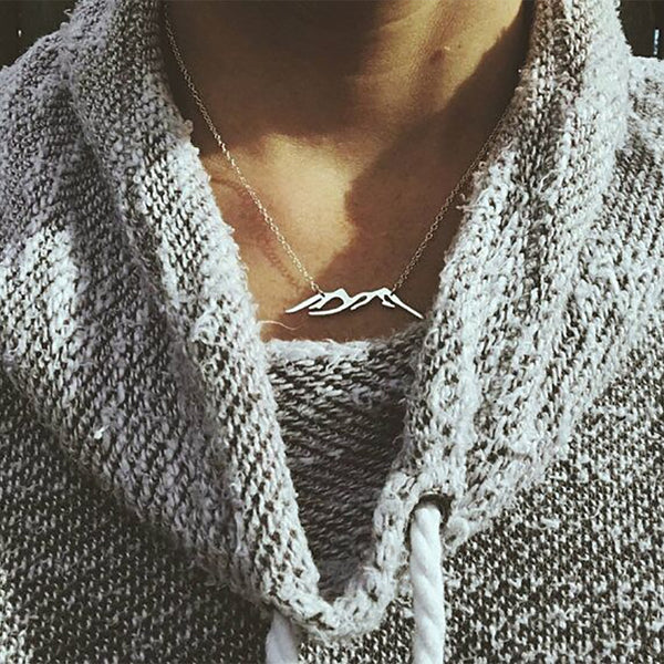 Simple Stylish Stainless Steel Clavicle Chain