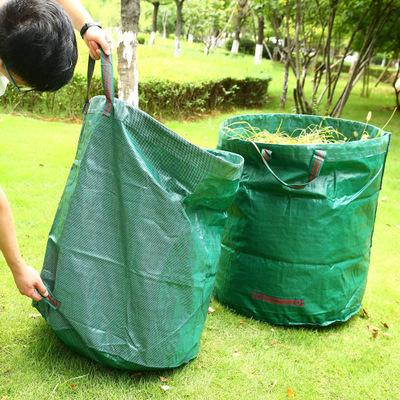 Large Capacity PE Garden Leaves Bag Container Bag Garden Outdoor
