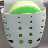 Kitchen Sink Sponge Hanging Bags Saddle Debris Drainage Basket Storage Sponge Rack Holder