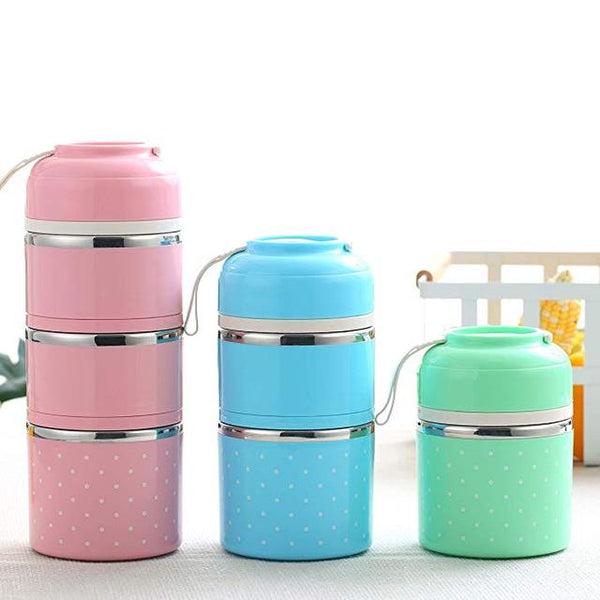 Portable Stainless Steel Bento Box