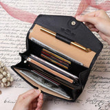 Leather Card Wallet Stylish Handbags Designer Business Card Holder