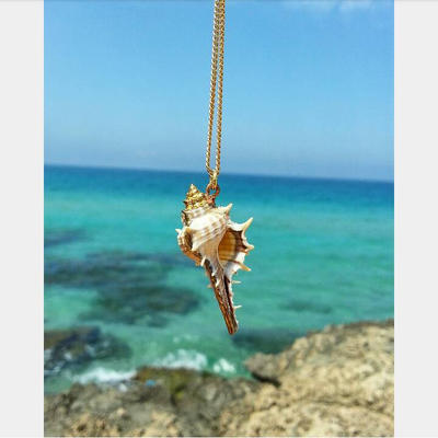 Pure Natural Conch Necklace