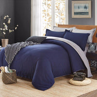 4Pcs Solid Color Bedding Set Duvet Cover Sets Bed Linen Bed Sets Include Bed Sheet Pillowcase