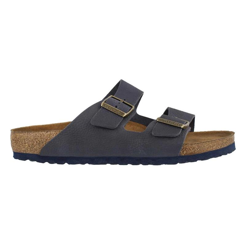 Birkenstock Arizona Steer Indigo Women | Lyn Rose Boutique