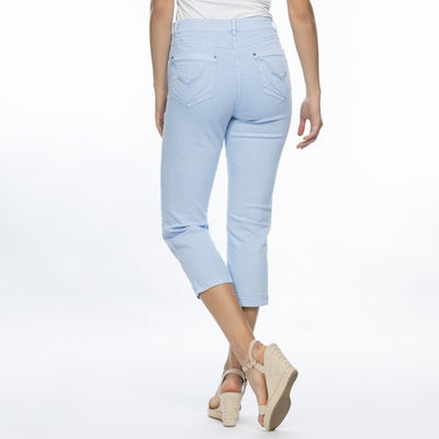 Miracle Jean Crop Women Light Blue | Lyn Rose Boutique