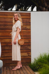 Meadow Jumpsuit - Natural