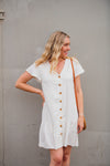 Elise Tunic Dress - Buttermilk