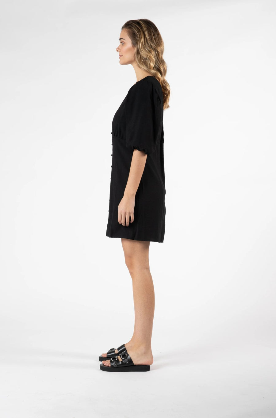 Tarva Puff Dress Women | Lyn Rose Boutique