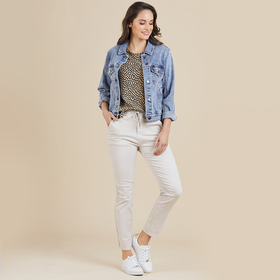 Threadz Denim Jacket Women | Lyn Rose Boutique