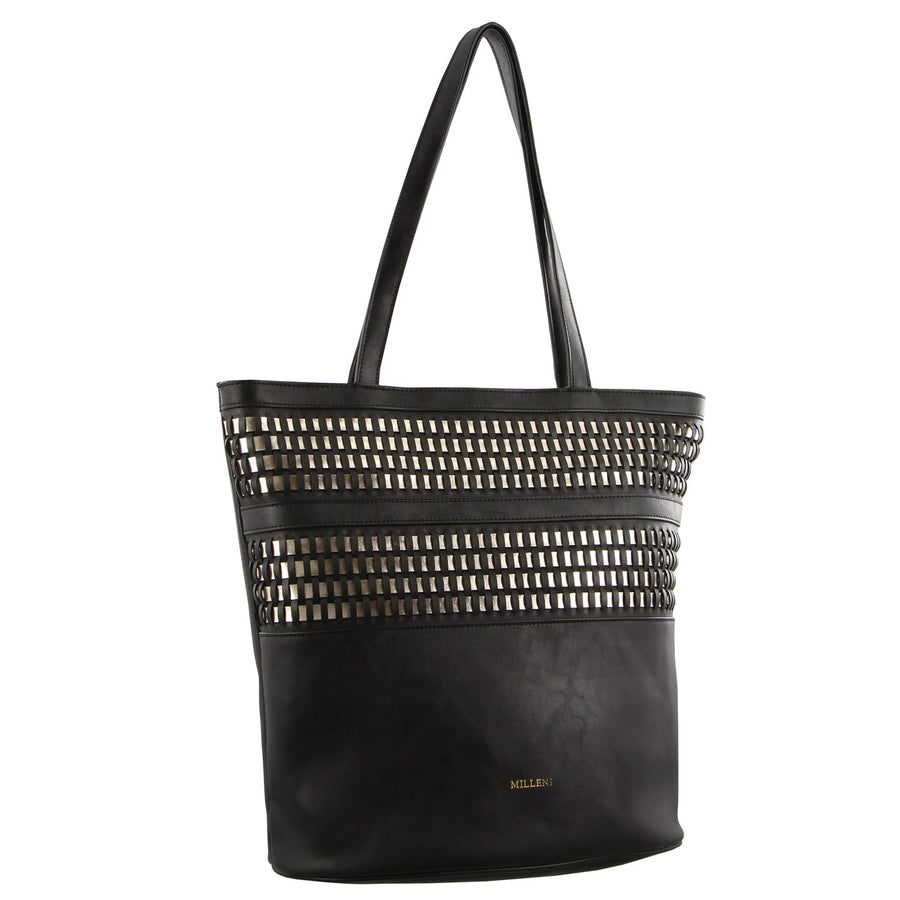 Milleni Tote Black | Lyn Rose Boutique