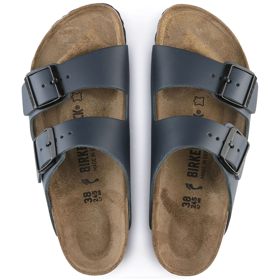 ARIZONA Blue Leather - BIRKENSTOCK