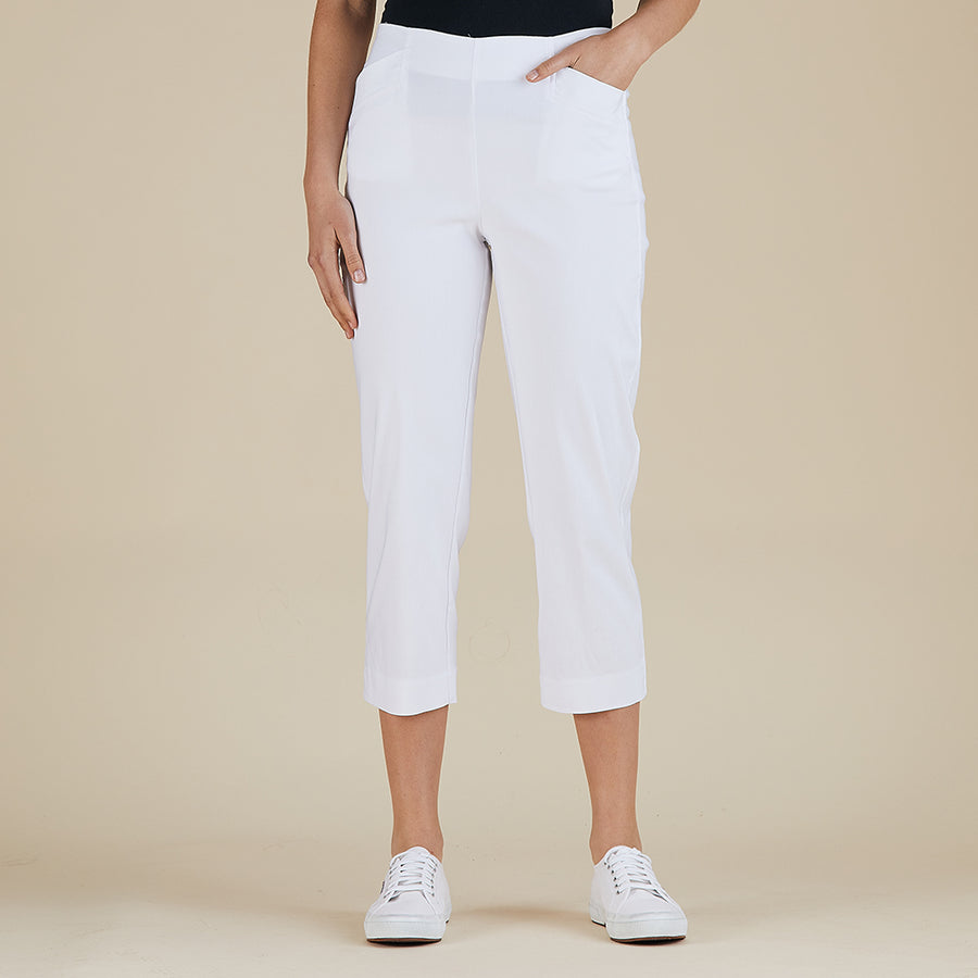 Threadz 3/4 Pants - White