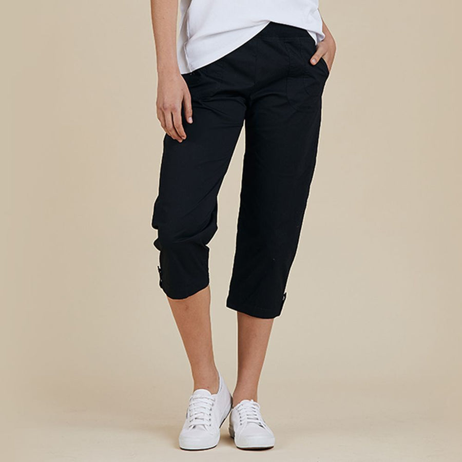 Cotton Short Pant - Black