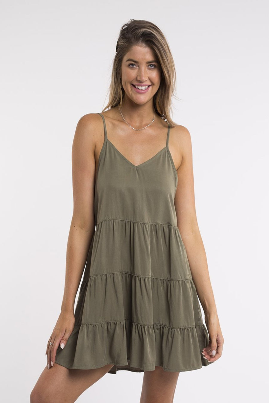 Bondi Dress Khaki Women | Lyn Rose Boutique