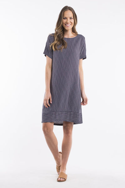 Silvie Stripe Women Dress | Lyn Rose Boutique