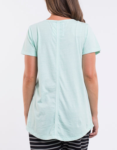 Ruby Vee Tee - Mint