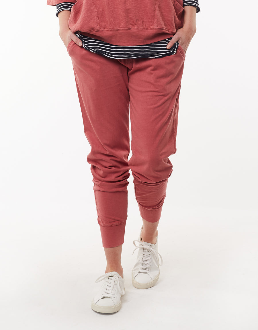 Wash Out Pant WomenI Deep Rose | Lyn Rose Boutique