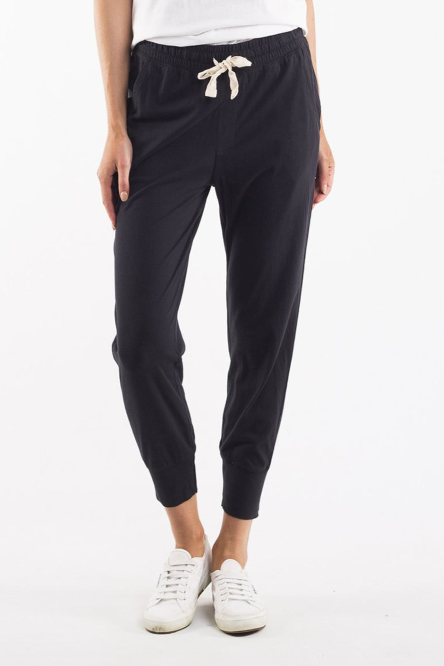 Wash Out Lounge Pant Women Washed Black | Lyn Rose Boutique