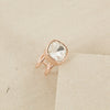 Rounded Square Jewel Ring | Lyn Rose Boutique