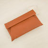 Foldover Clutch Tan | Lyn Rose Boutique