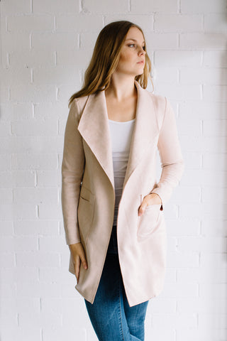 Willow Jacket - Blush