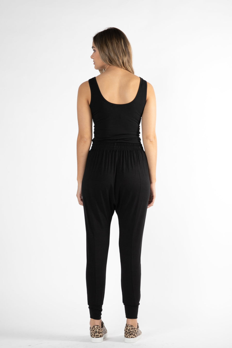 Barcelona Pants Black Women | Lyn Rose Boutique