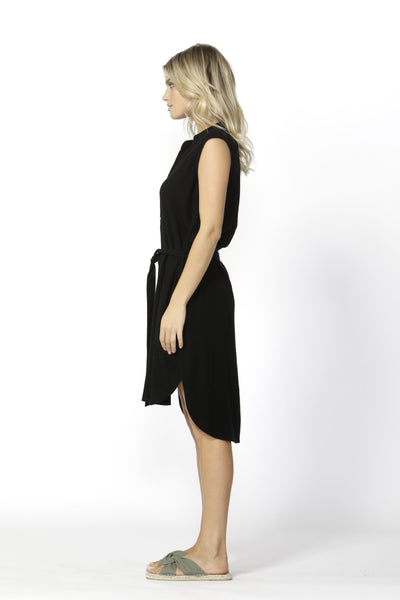 Kace Midi Dress Black | Lyn Rose Boutique
