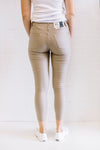 Wax Stretch 7/8 Women Mocha | Lyn Rose Boutique