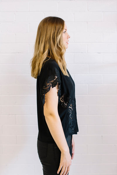 Pretty Women Black Maud Dainty | Lyn Rose Boutique