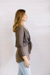 Mesh Wrap Cardi Women | Lyn Rose Boutique