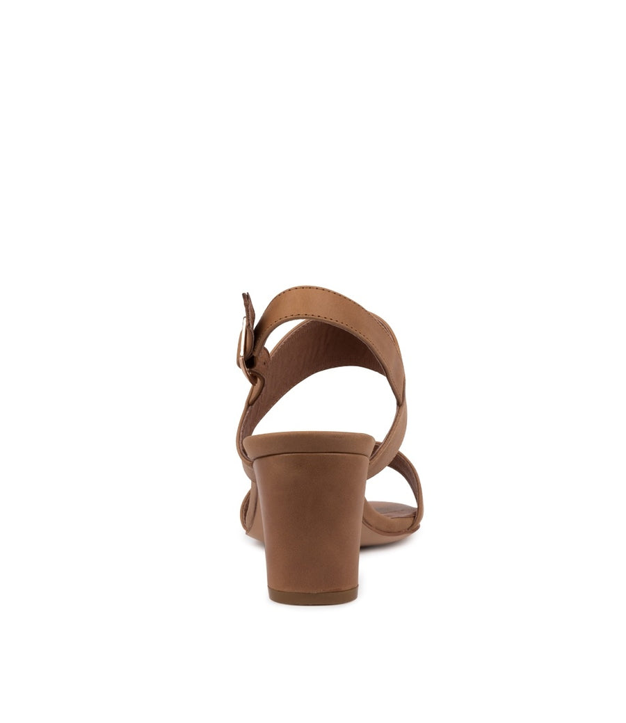 Calons Women Heels Tan | Lyn Rose Boutique