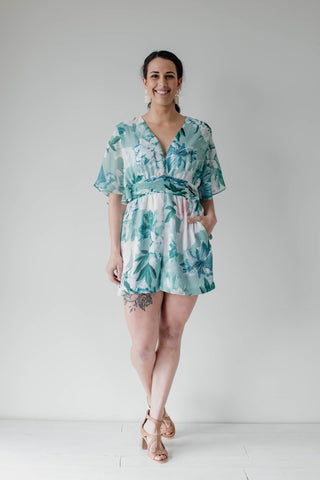 Garden Party Playsuit