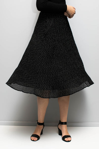 Jemma Skirt Women Black | Lyn Rose Boutique