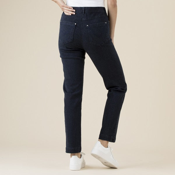 Slim Leg Miracle Jean Women Navy | Lyn Rose Boutique