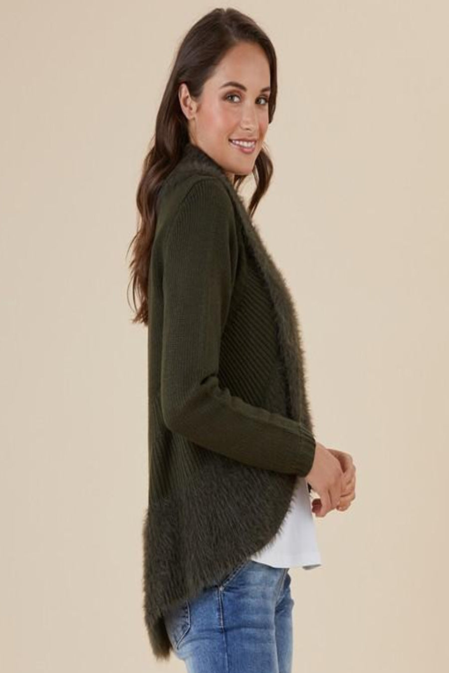 Faux Fur Cardigan Women | Lyn Rose Boutique